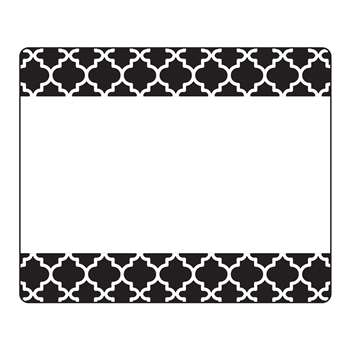 Moroccan Black Terrific Labels, T-68042