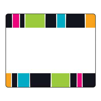 Stripe-Tacular Groovy Terrific Labels, T-68045