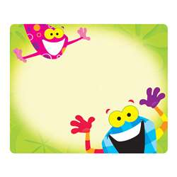 Frog-Tastic Name Tags By Trend Enterprises
