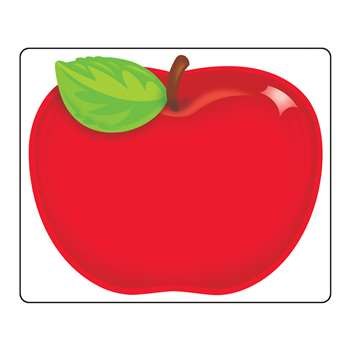 Shiny Red Apple Name Tags By Trend Enterprises