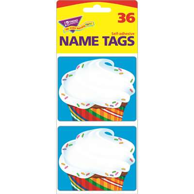 Bake Shop Cupcake Name Tags By Trend Enterprises