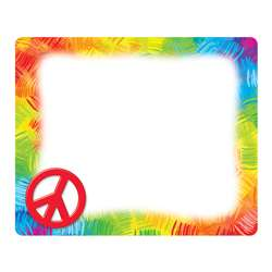Peace Sign Name Tags By Trend Enterprises