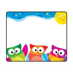Owl Stars Name Tags By Trend Enterprises