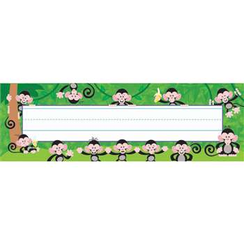 Monkey Mischief Desk Toppers Name Plates By Trend Enterprises