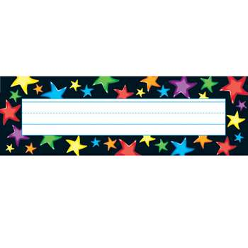 Gel Stars Desk Topper Name Plates By Trend Enterprises