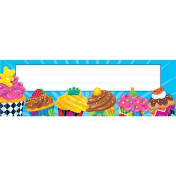 Bake Shop Cupcakes Desk Toppers Name Plates By Trend Enterprises
