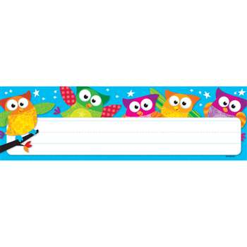 Owl Stars Desk Toppers Name Plates By Trend Enterprises