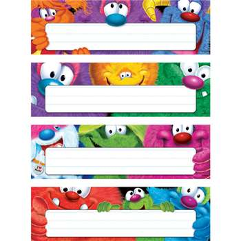 Furry Friends Desk Toppers Name Plates Variety Pack By Trend Enterprises