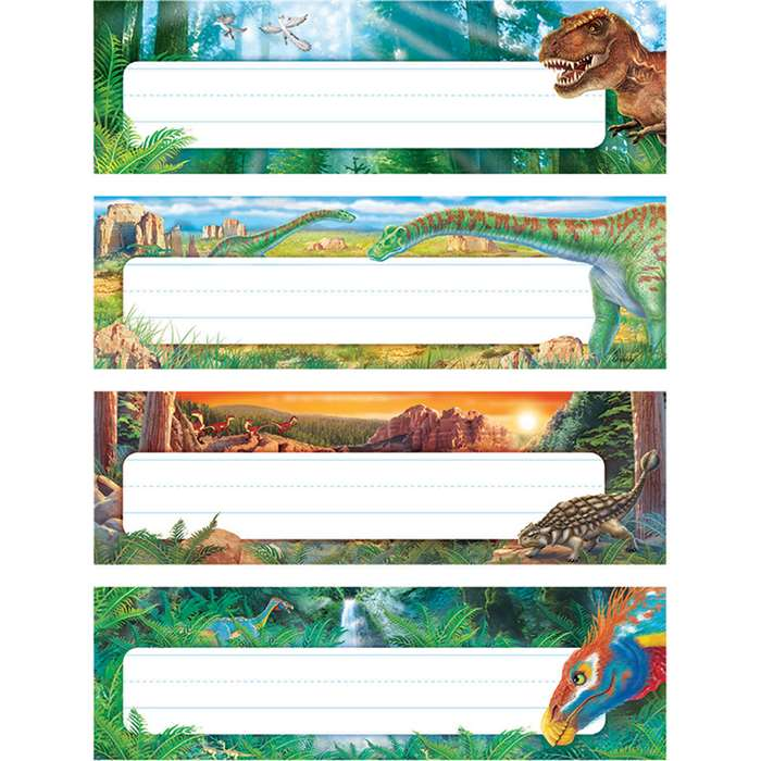 Discovering Dinosaurs Desk Toppers Name Plates Var, T-69944