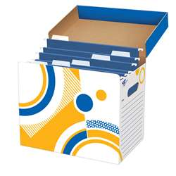 File N Save System File Folder Box 12 X 8 X 10 By Trend Enterprises
