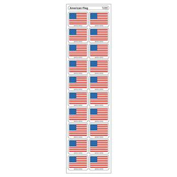 Stickers American Flag By Trend Enterprises