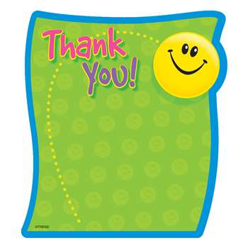 Note Pad Thank You 50 Sht 5X5 Acid Free By Trend Enterprises