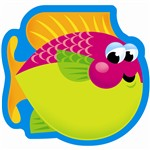 Note Pad Fish 50 Sht 5 X 5 Acid Free By Trend Enterprises