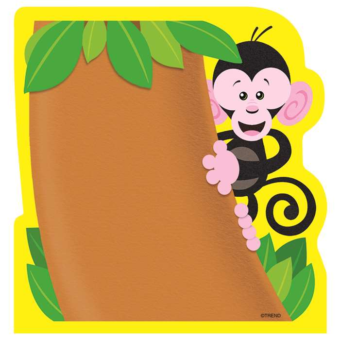 Notepads Monkey By Trend Enterprises