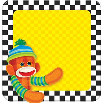 Sock Monkey Note Pad By Trend Enterprises