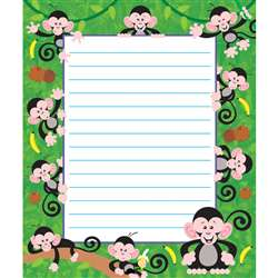 Monkey Mischief Note Pad By Trend Enterprises