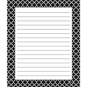 Moroccan Black Note Pad, T-72351
