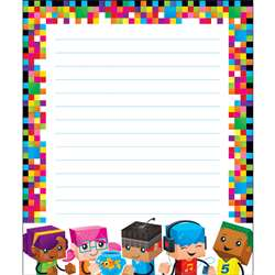Blockstars Note Pad, T-72369