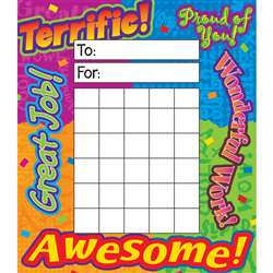 Incentive Pad Reward Words By Trend Enterprises