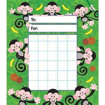 Monkey Mischief Ipd Incentive Pads By Trend Enterprises