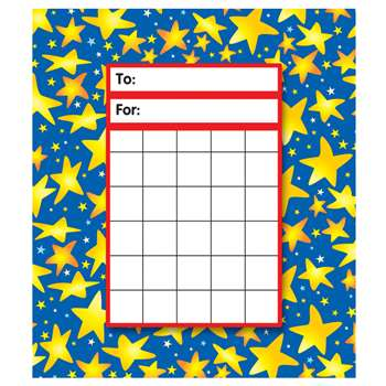 Star Brights Ipd Incentive Pads By Trend Enterprises