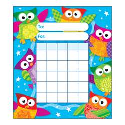 Owl Stars Incentive Pad By Trend Enterprises
