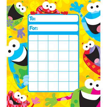Frog Tastic Incentive Pad By Trend Enterprises