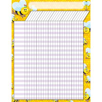 Incentive Chart Bees 17 X 22 By Trend Enterprises