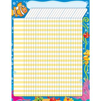 Sea Buddies Incentive Chart Large, T-73385