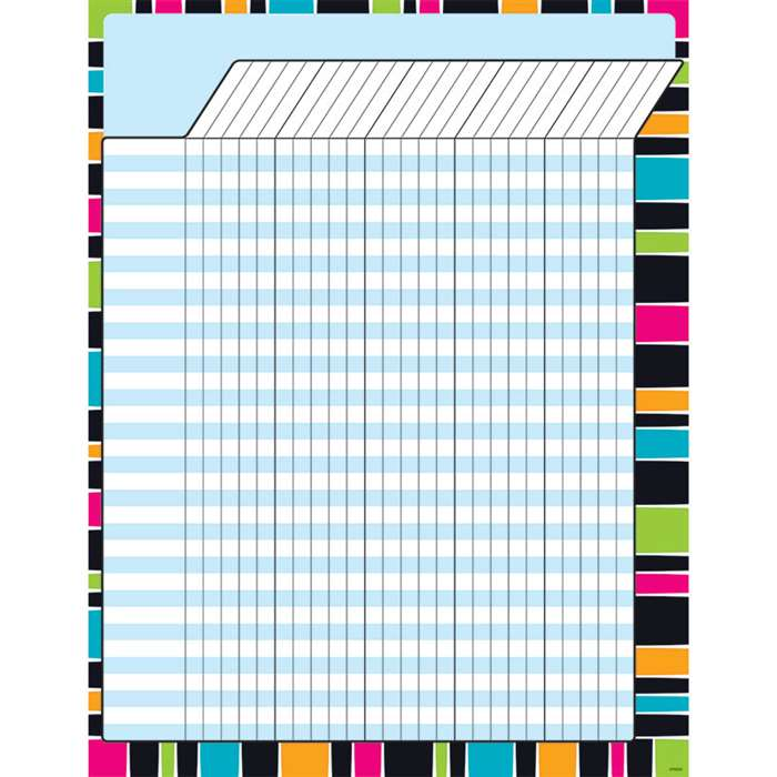 Stripe-Tacular Groovy Incentive Chart, T-73394