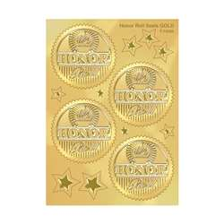 Award Seal Honor Roll (Gold) 32/Pack By Trend Enterprises