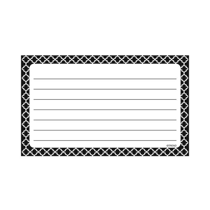 Moroccan Terrific Index Cards Lined, T-75301