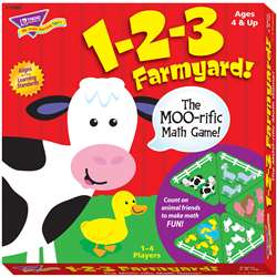 Learning Games 1-2-3 Farmyard By Trend Enterprises