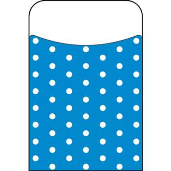 Polka Dots Blue Terrific Pockets, T-77044