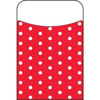 Polka Dots Red Terrific Pockets, T-77046