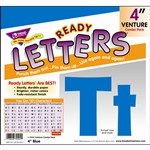 Ready Letters Blue 4 Venture Uppercase & Lowercase Combo By Trend Enterprises
