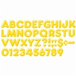 Ready Letters 2Inch 3-D Yellow By Trend Enterprises