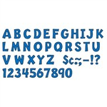 "Ready Letter 2"" Playful Blue By Trend Enterprises"