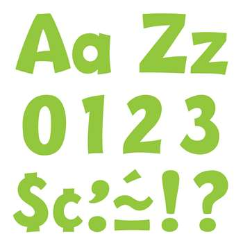 "Lime 4 "" Playful Combo Pack Ready Letters, T-79767"