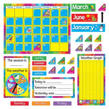 Bb Set Year Round Calendar Gr Pk-3 By Trend Enterprises