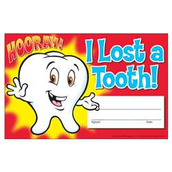 Awards I Lost A Tooth Hooray By Trend Enterprises