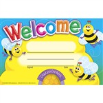 Awards Welcome Bees By Trend Enterprises