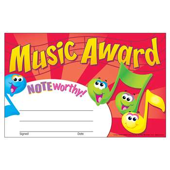 Awards Music Award By Trend Enterprises