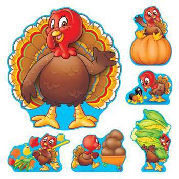 Bb Set Turkey Time By Trend Enterprises