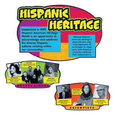 Bb Sets Hispanic Heritage By Trend Enterprises