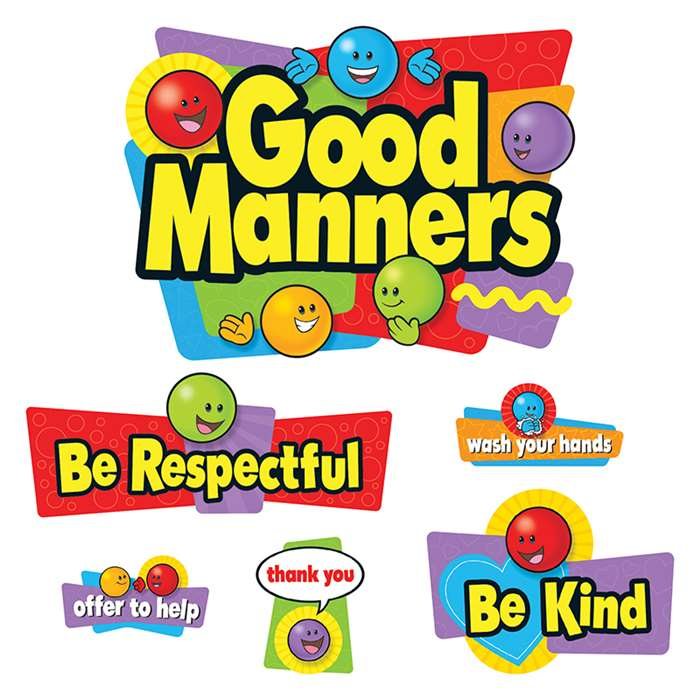 Bb Set Good Manners By Trend Enterprises