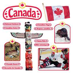 Bb Set Canadian Symbols Symboles Canadiens By Trend Enterprises