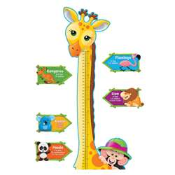 Bb Set Giraffe Growth Chart By Trend Enterprises