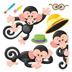 Monkey Mischief Bbs Sets By Trend Enterprises