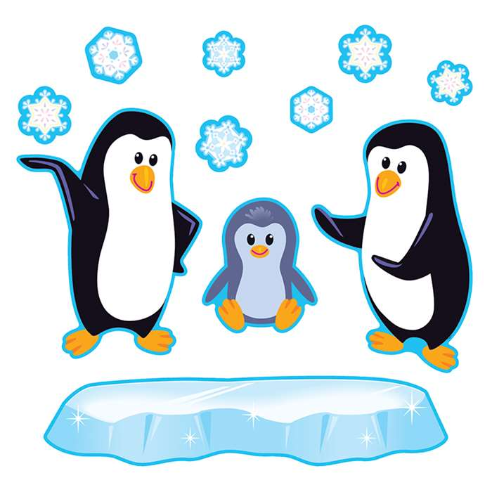 Playful Penguins Bulletin Board Set By Trend Enterprises